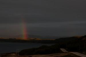 keskiyön sateenkaari